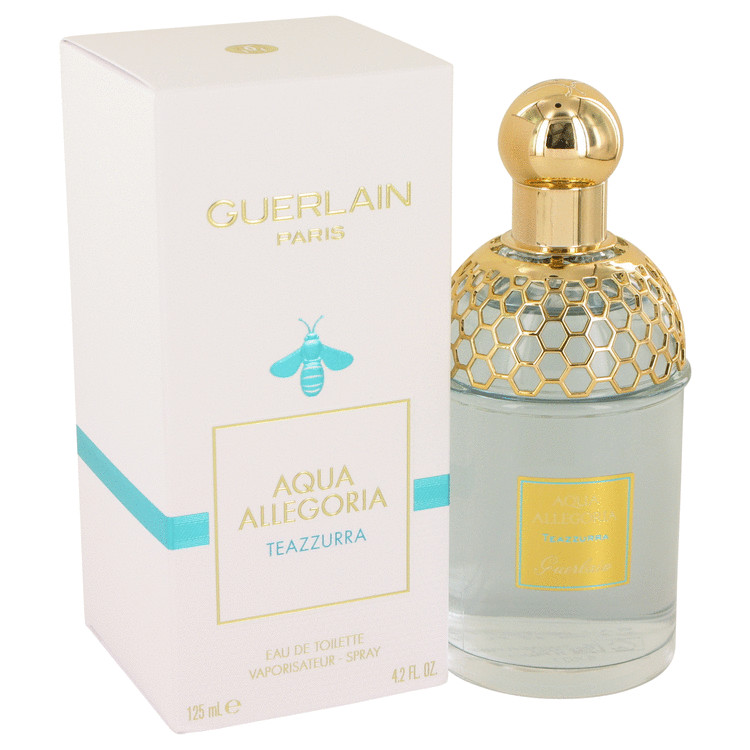 Aqua Allegoria Teazzurra by Guerlain for Women Eau De Toilette Spray 4.2 oz