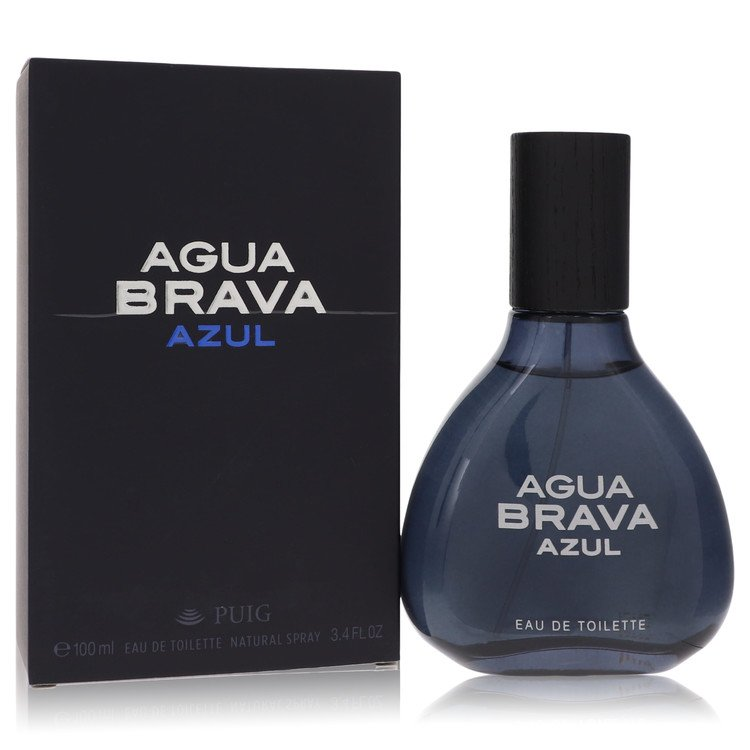 Agua Brava Azul by Antonio Puig for Men Eau De Toilette Spray 3.4 oz