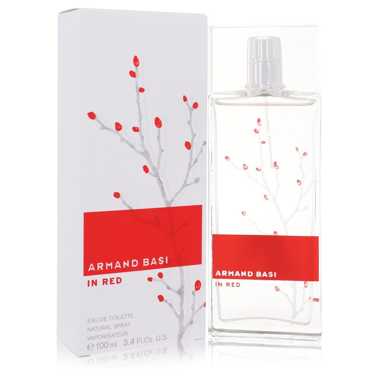 Armand Basi in Red by Armand Basi for Women Eau De Toilette Spray 3.4 oz