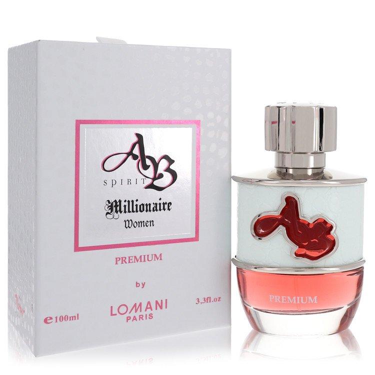 Ab Spirit Millionaire Premium by Lomani Women's Eau De Parfum Spray 3.3 oz
