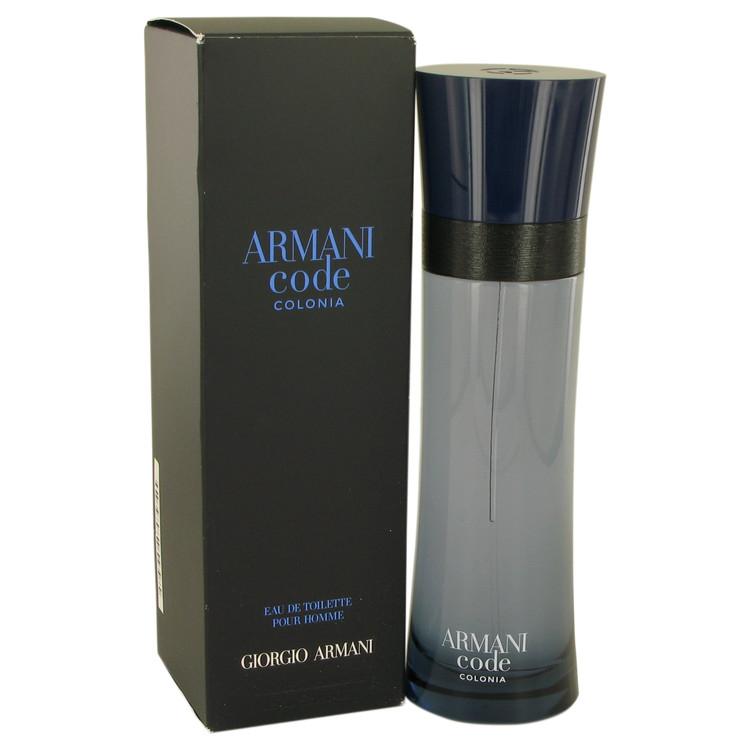 Armani Code Colonia by Giorgio Armani –  Eau De Toilette Spray 4.3 oz 127 ml for Men