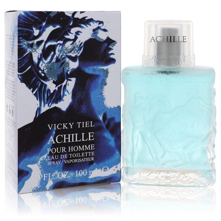 Achille Pour Homme by Vicky Tiel for Men Eau De Toilette Spray 3.4 oz
