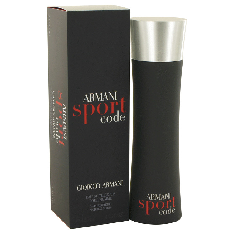 Armani Code Sport Cologne by Giorgio Armani 4.2 oz EDT Spay for Men