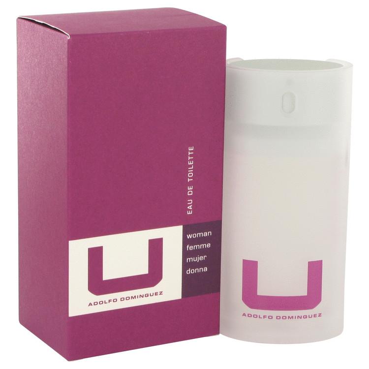 U By Adolfo Dominguez Perfume by Myrurgia 2.5 oz EDT Spay for Women