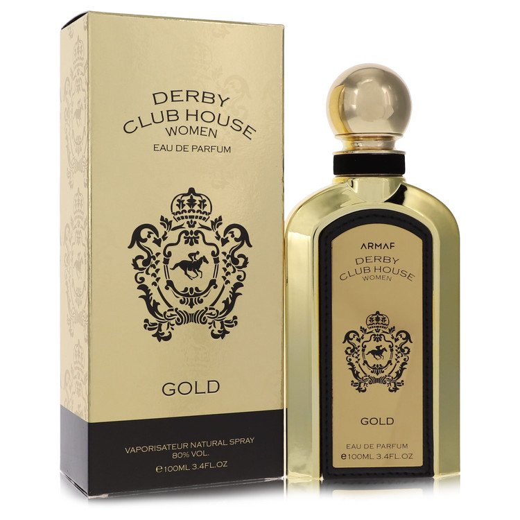 Armaf Derby Club House Gold by Armaf for Women Eau De Parfum Spray 3.4 oz
