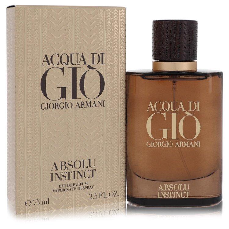 Acqua Di Gio Absolu Instinct by Giorgio Armani –  Eau De Parfum Spray 2.5 oz 75 ml for Men