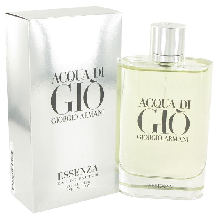 Acqua Di Gio Essenza by Giorgio Armani for Men Eau De Parfum Spray 6 oz