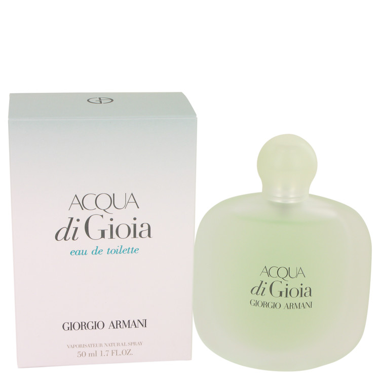 Acqua Di Gioia by Giorgio Armani for Women Eau De Toilette Spray 1.7 oz