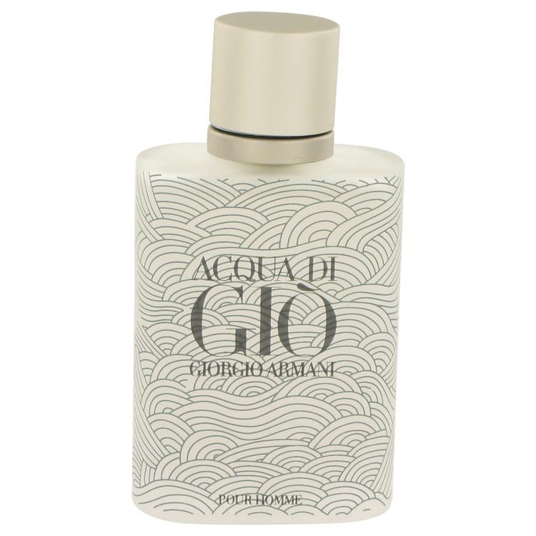 ACQUA DI GIO by Giorgio Armani for Men Eau De Toilette Spray (Limited Edition Bottle Tester) 3.4 oz