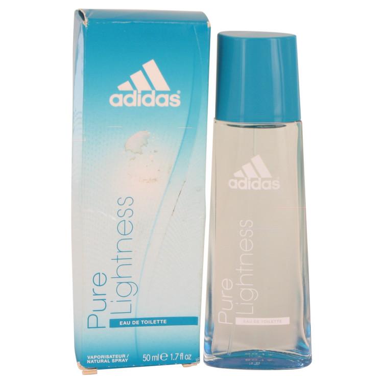Adidas Pure Lightness by Adidas for Women Eau De Toilette Spray (Damaged Box) 1.7 oz