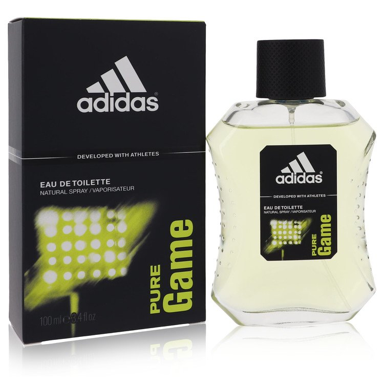 Adidas Pure Game Cologne by Adidas 3.4 oz EDT Spay for Men Spray