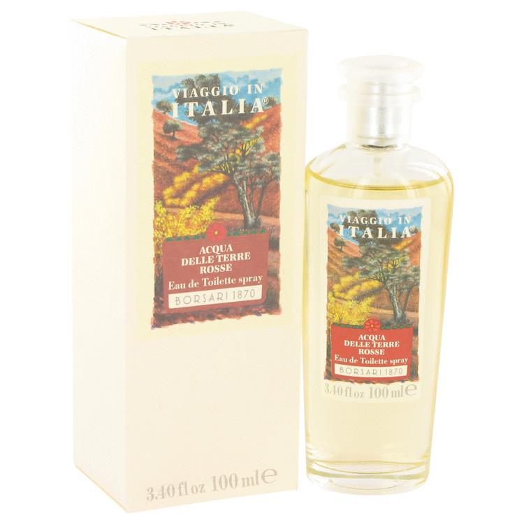 Acqua Delle Terre Rosse Perfume by Borsari 3.4 oz EDT Spay for Women
