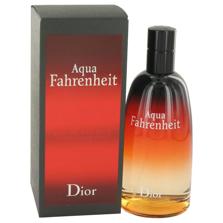 Aqua Fahrenheit by Christian Dior for Men Eau De Toilette Spray 4.2 oz