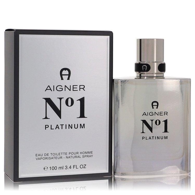 Aigner No. 1 Platinum Cologne 3.4 oz EDT Spay for Men