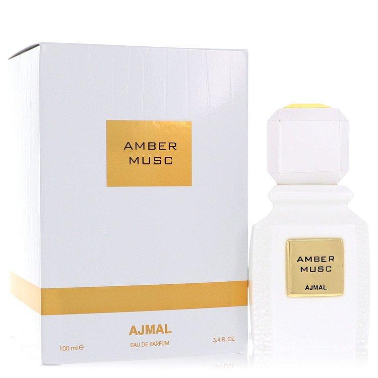 Ajmal Amber Musc by Ajmal Eau De Parfum Spray (Unisex) 3.4 oz for Women