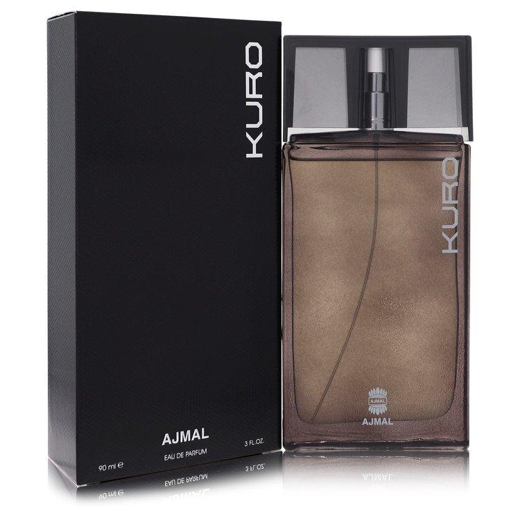 Ajmal Kuro by Ajmal for Men Eau De Parfum Spray 3 oz