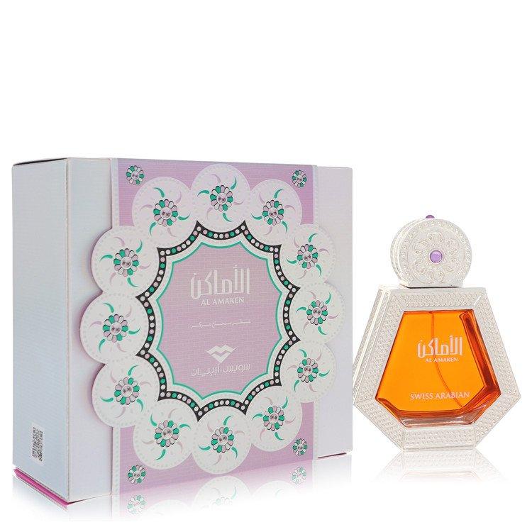Al Amaken by Swiss Arabian Women's Eau De Parfum Spray (Unisex) 1.7 oz