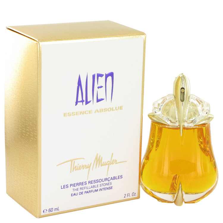 Alien Essence Absolue by Thierry Mugler for Women Eau De Parfum Intense Refillable Spray 2 oz