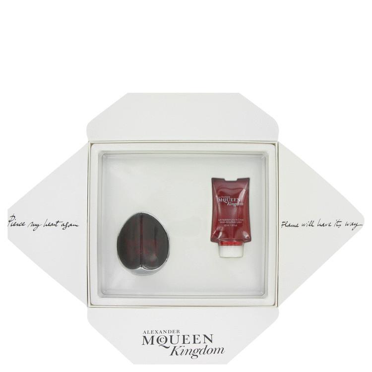 Alexander Mcqueen Kingdom for Women, Gift Set (1.6 oz EDP Spray + 1.6 oz Body Lotion in Gift Box)