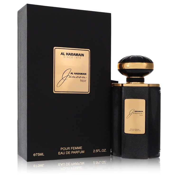 Al Haramain Junoon Noir by Al Haramain for Women Eau De Parfum Spray 2.5 oz
