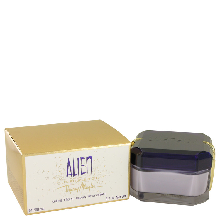 Alien by Thierry Mugler for Women Declat Radiant Body Cr?me 6.7 oz