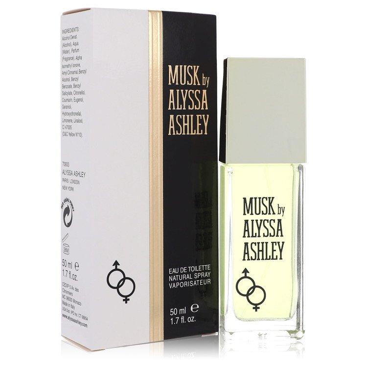 Alyssa Ashley Musk by Houbigant for Women Eau De Toilette Spray 1.7 oz