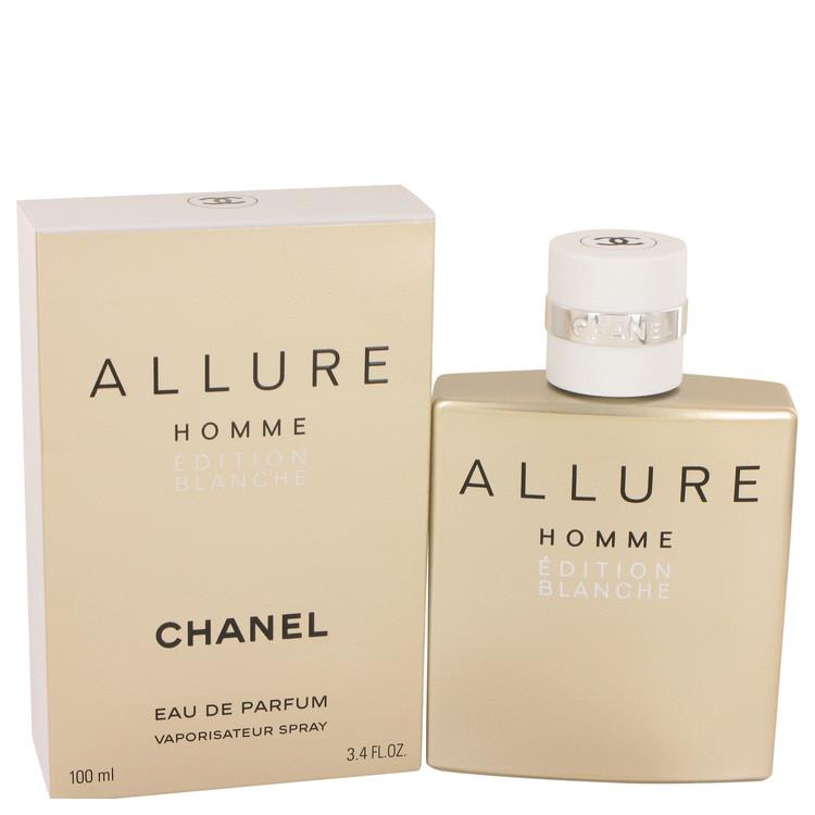 Allure Homme Blanche by Chanel for Men Eau De Parfum Spray 3.4 oz