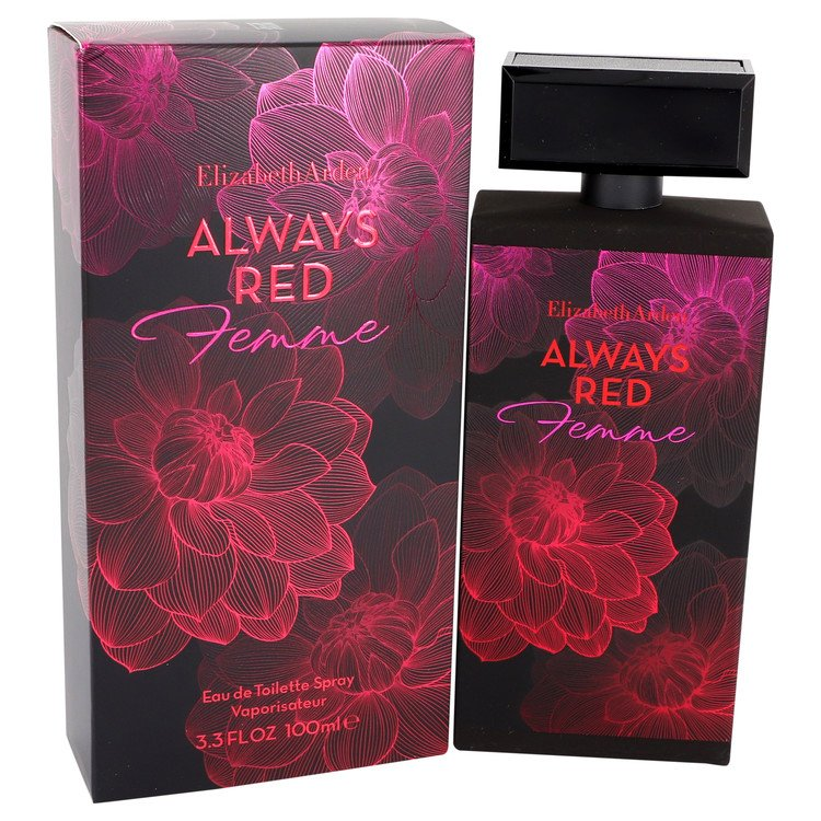 Always Red Femme by Elizabeth Arden for Women Eau De Toilette Spray 3.3 oz