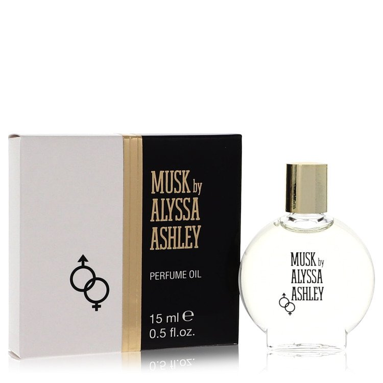 Alyssa Ashley Musk by Houbigant for Women Perfumed Oil .5 oz