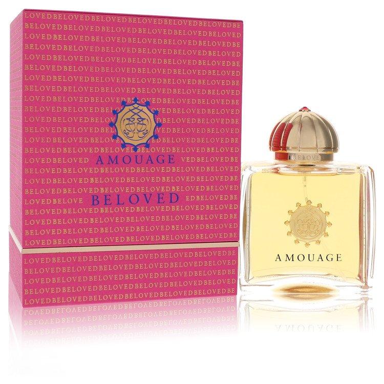 Amouage Beloved by Amouage for Women Eau De Parfum Spray 3.4 oz