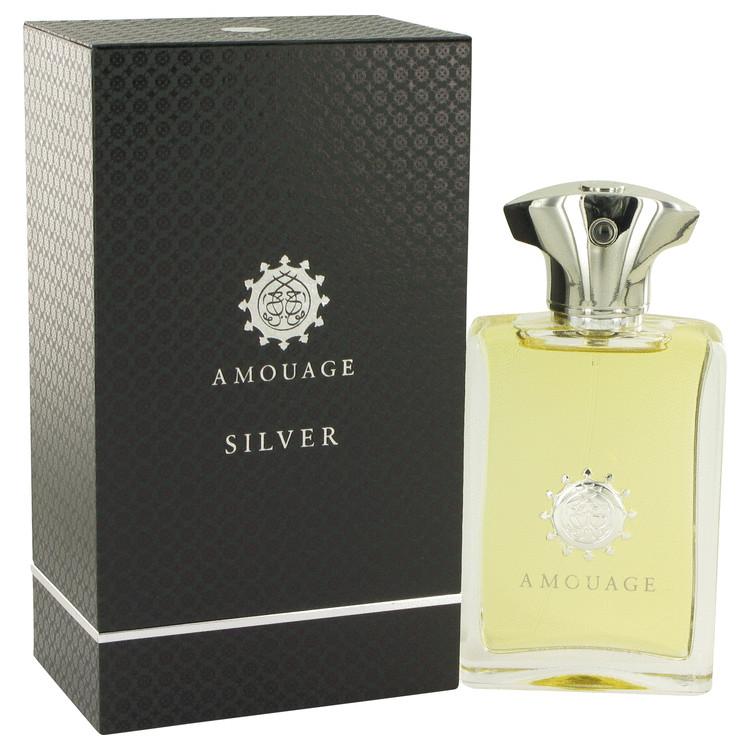 Amouage Silver by Amouage for Men Eau De Parfum Spray 3.4 oz