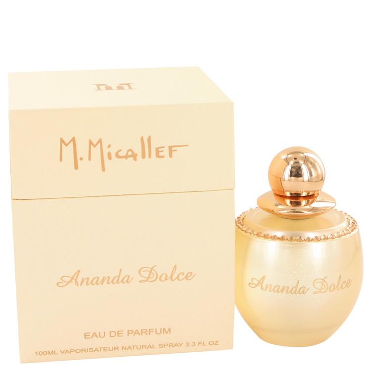 Ananda Dolce by M. Micallef for Women Eau De Parfum Spray 3.3 oz