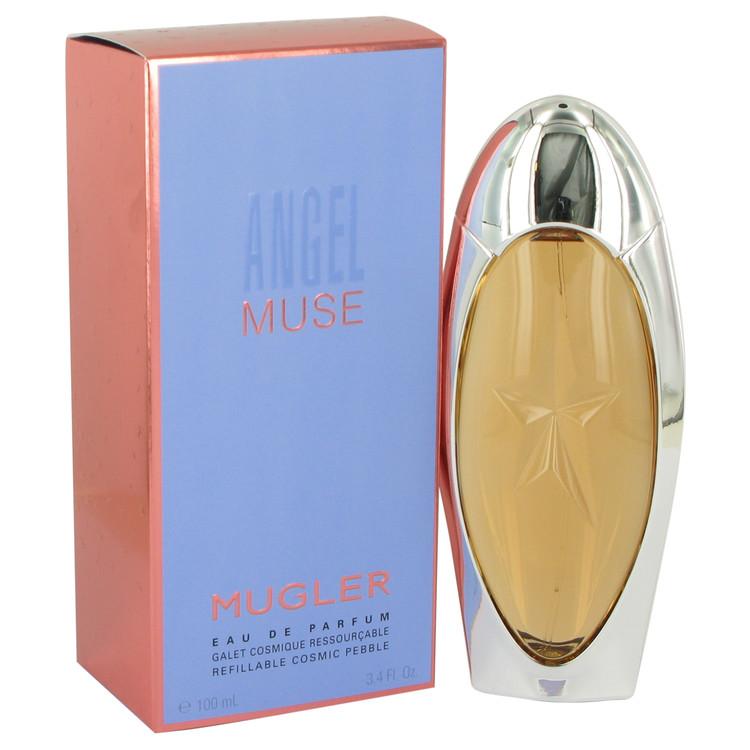Angel Muse by Thierry Mugler for Women Eau De Parfum Spray Refillable 3.4 oz