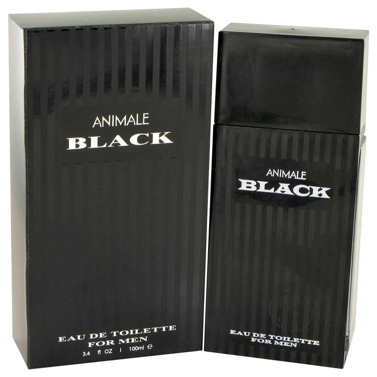 Animale Black by Animale for Men Eau De Toilette Spray 3.4 oz
