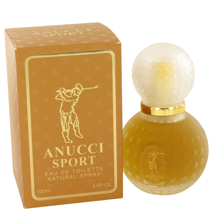 Anucci Sport by Anucci for Men Eau De Toilette Spray 3.4 oz
