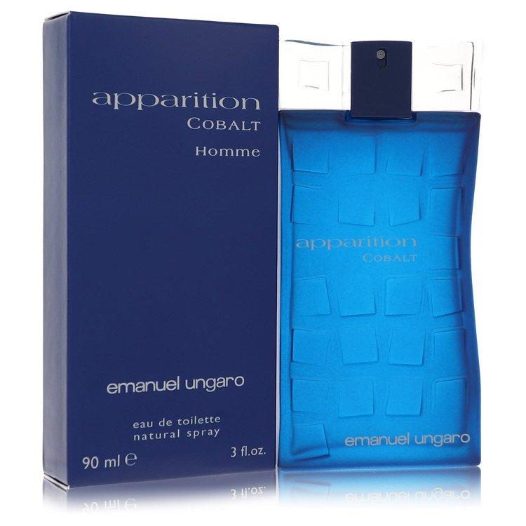 Apparition Cobalt by Ungaro for Men Eau De Toilette Spray 3 oz