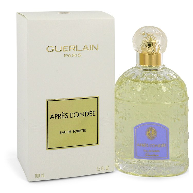 Apres L'ondee by Guerlain Eau De Toilette Spray 3.4 oz
