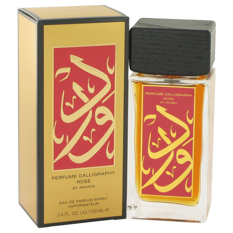 Calligraphy Rose by Aramis for Women Eau De Parfum Spray 3.4 oz