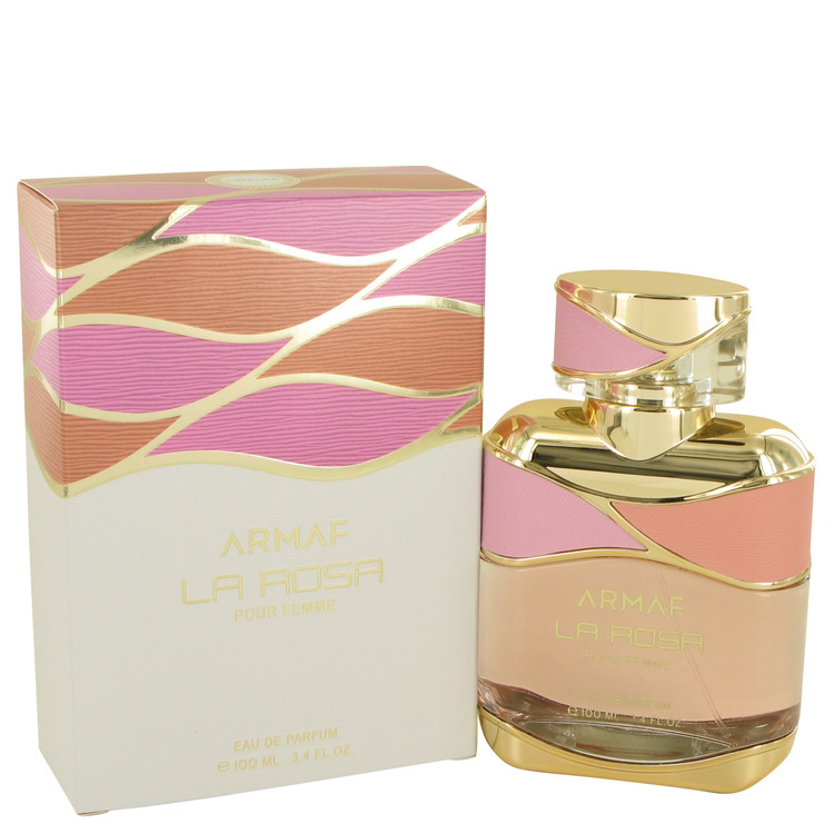 Armaf La Rosa by Armaf for Women Eau De Parfum Spray 3.4 oz