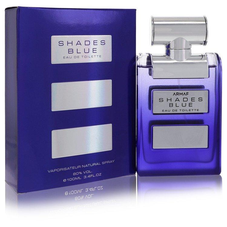 Armaf Shades Blue by Armaf for Women Eau De Toilette Spray 3.4 oz