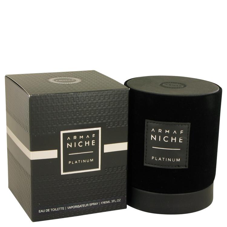 Armaf Niche Platinum by Armaf Men's Eau De Toilette Spray 3 oz