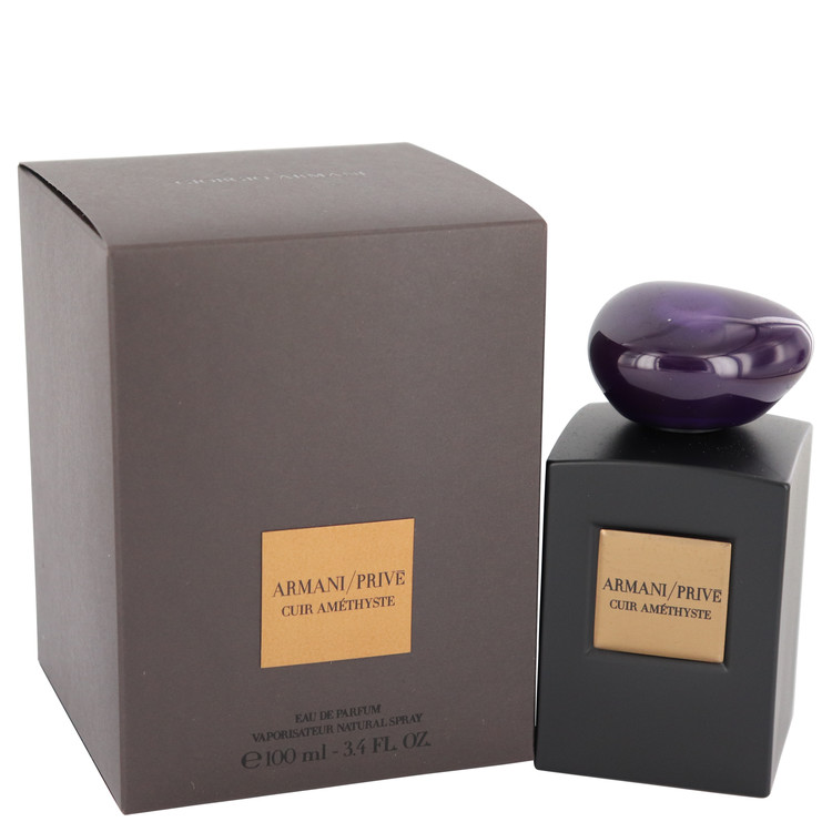 Armani Prive Cuir Amethyste Perfume 3.4 oz EDP Spay for Women