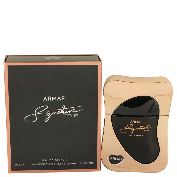 Armaf Signature True by Armaf for Women Eau De Parfum Spray 3.4 oz