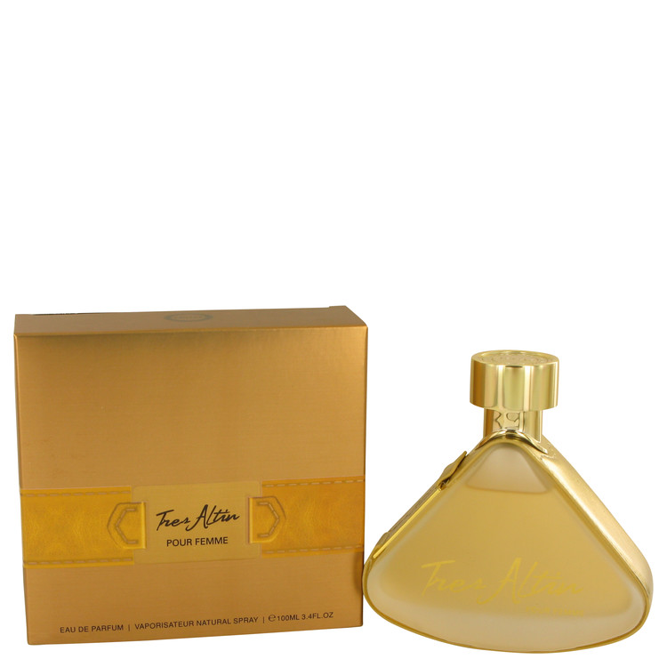 Armaf Tres Altin by Armaf for Women Eau De Parfum Spray 3.4 oz
