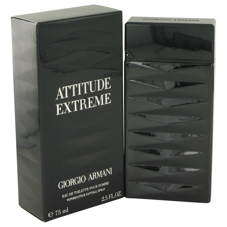 Attitude Extreme Cologne by Giorgio Armani 2.5 oz EDT Spay for Men