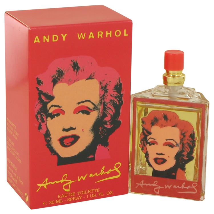Andy Warhol Marilyn Red by Andy Warhol for Women Eau De Toilette Spray 1 oz