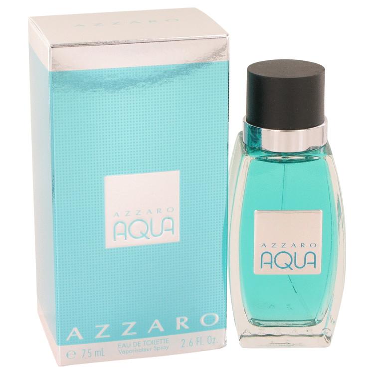Azzaro Aqua Cologne by Azzaro 2.6 oz EDT Spray for Men