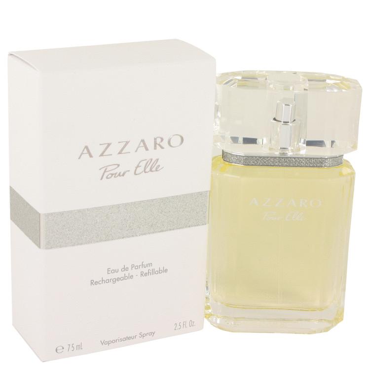 Azzaro Pour Elle by Azzaro –  Eau De Parfum Refillable Spray 2.5 oz 75 ml for Women