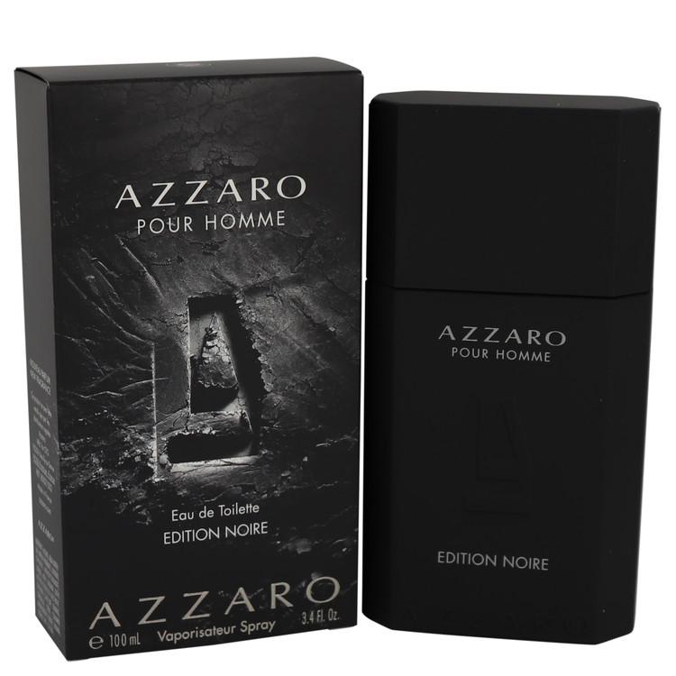 Azzaro Pour Homme Edition Noire by Azzaro for Men Eau De Toilette Spray 3.4 oz