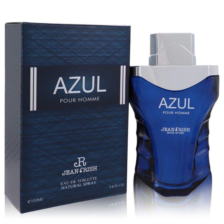Azul Pour Homme by Jean Rish for Men Eau De Toilette Spray 3.4 oz